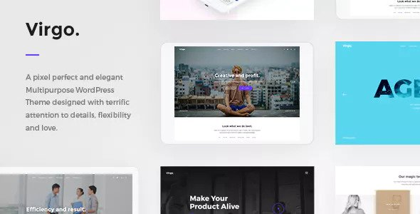 Virgo v1.1.1 - Multipurpose Multi-Concept WordPress Theme