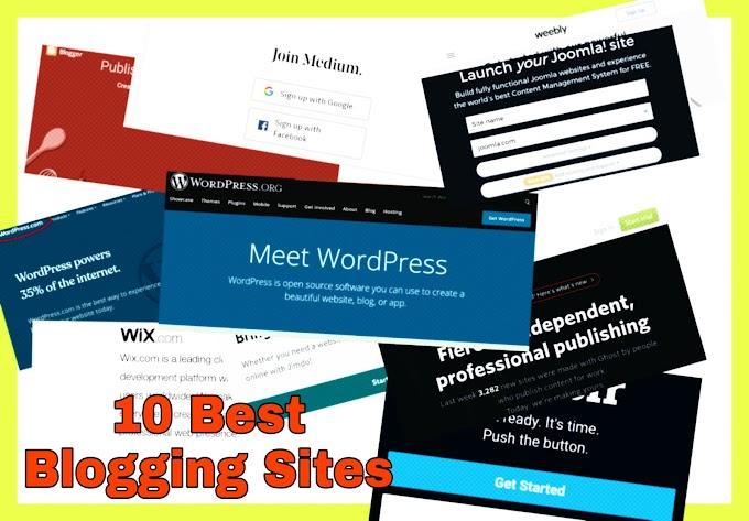 10 Best free or paid Blogging Plateform.| Blogging guide in hindi | ब्लोगिंङ सुरु करने के लिये 10 फ्री ओर प्रेमियम ब्लोगिंङ साइट कि हिन्दी जानकारी । | by  HTI (hinditechinfo) |