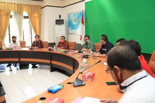 Rapat Koordinasi dengan Pemilik Utilitas Dalam Rangka Pengembangan Jaringan Gas Untuk Rumah Tangga - Tarakan Info