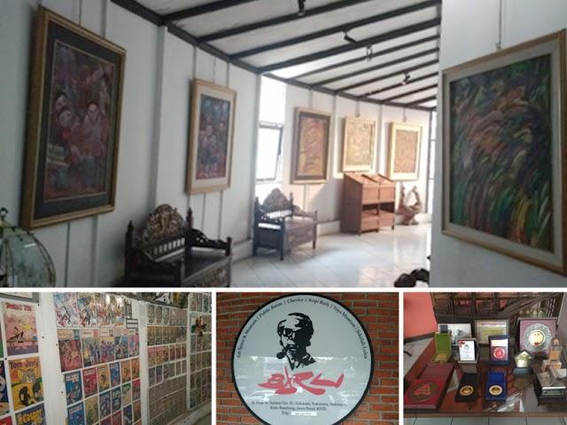 Menikmati Galeri Seni Koleksi Seniman Legendaris di Museum Barli