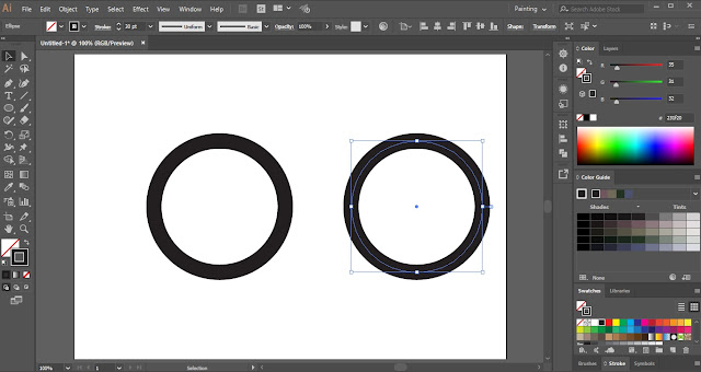 Circular Progress Bar in Adobe Illustrator