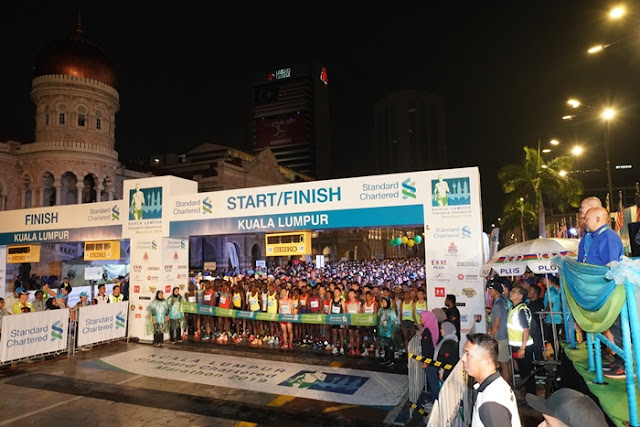KLSCM2020 Sells Out in Seven Hours and Expected 45,000 Runners KLSCM, Kuala Lumpur Standard Chartered Marathon, Running, KL Marathon, Fitness