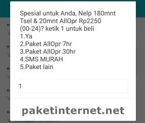 PROMO Paket Nelpon Telkomsel Murah