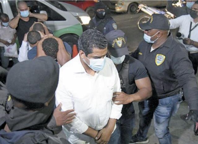 Envían a la cárcel del Nuevo Modelo  Penitenciario de Najayo a los principales implicados en el Operativo 13 de la Lotería Nacional