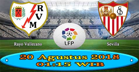 Prediksi Bola855 Rayo Vallecano vs Sevilla 20 Agustus 2018