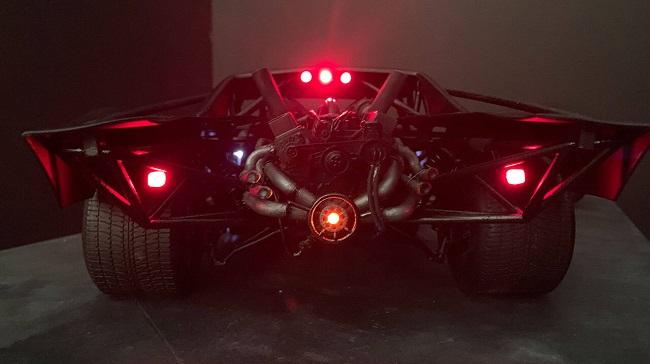 Modelo conceitual do Batmóvel de The Batman/Jeff Frost/Reprodução