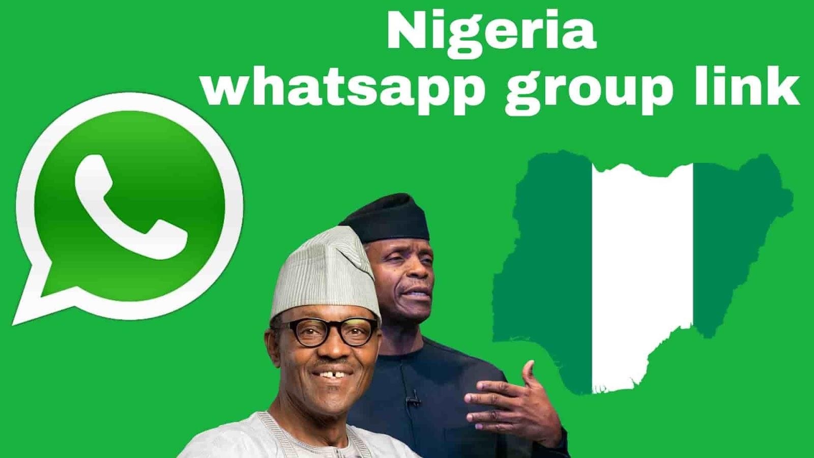 100+ (active) Nigeria whatsapp group link