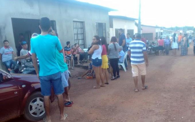COMOÇÃO: Estudante morta pelo namorado no Piauí é sepultada no Maranhão