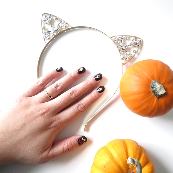 kiss nail art stickers halloween