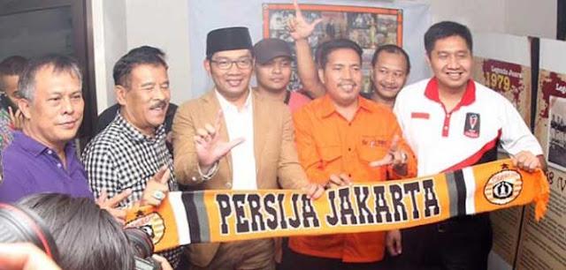 Persib Bertanding di Jakarta, Ridwan Kamil Kunjungi Markas Persija Jakarta