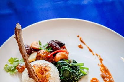Blue Elephant, Kuliner Kerajaan Thailand