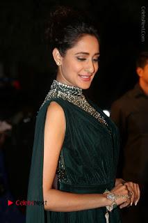 Actress Pragya Jaiswal Stills in Green Long Dress at Gemini TV Puraskaralu 2016 Event  0051.JPG