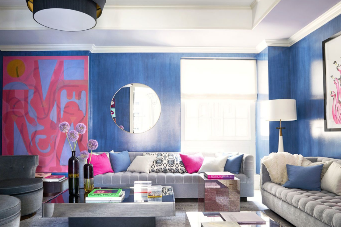 A Colorful Park Avenue Apartment