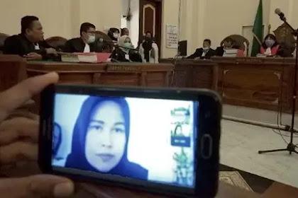 Detik-detik Istri Hakim PN Medan Jamaluddin Divonis Mati, Majelis Hakim Sampai Emosional