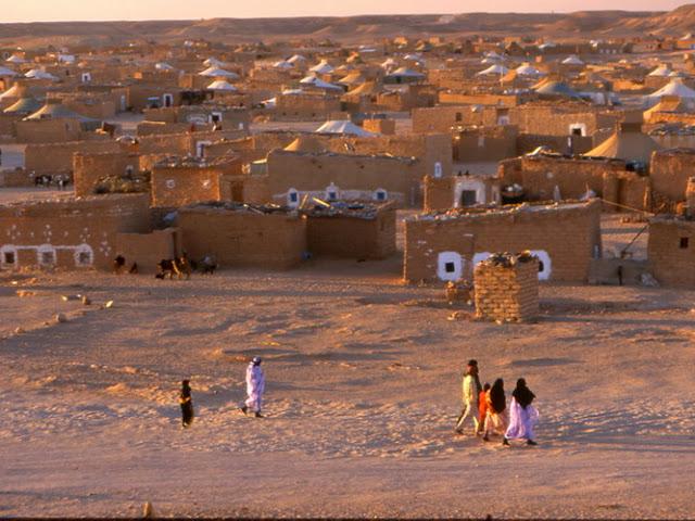 Ungdomspartiene besøkte Vest-Saharas flyktningleirer