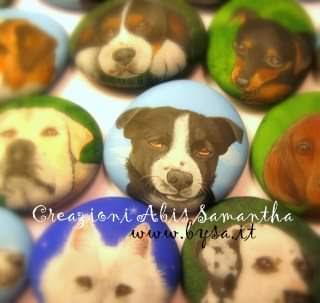 bomboniere cani dipinti prezzi