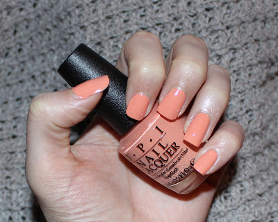OPI Crawfishin' for a Compliment