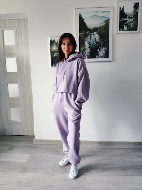 Styczniowe zamówienie z Femmeluxe - Dres, krótkie kurteczki i sukienka koszulowa