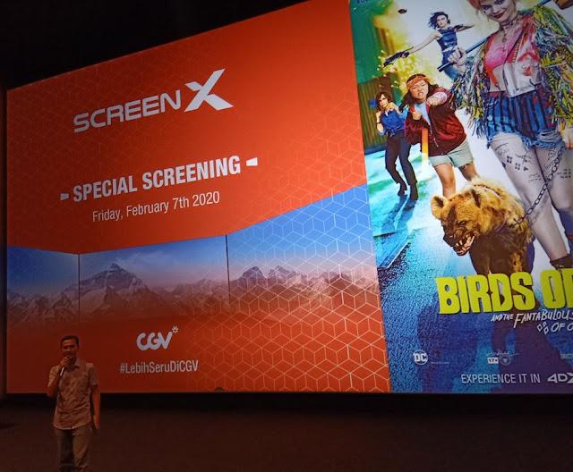 special screening harley quinn birds of prey