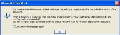 pesan-memprotek file word