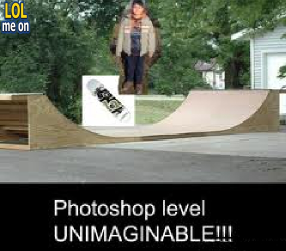 "funny fail photoshop picture from ""LOL me on"""