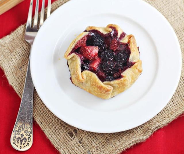 Mini Summer Berry Galettes Recipe