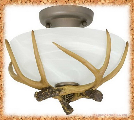 Rustic Flush Mount Ceiling Lights