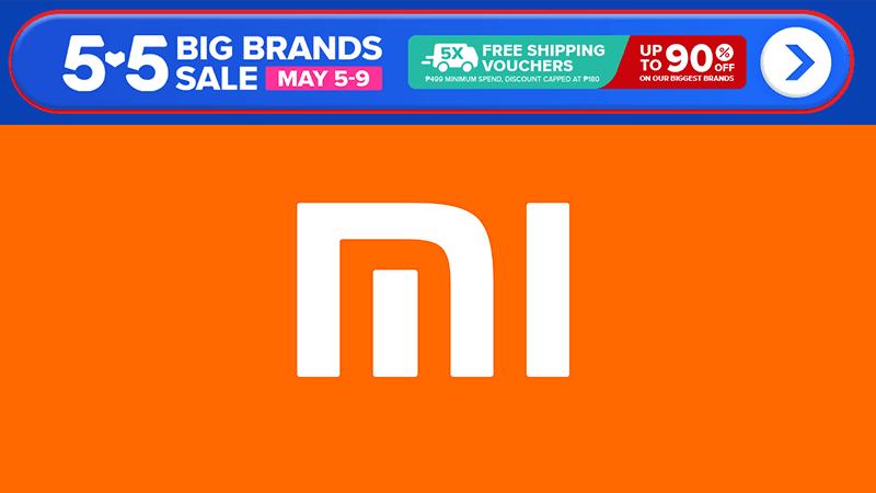 Xiaomi offers big price cuts during Lazada 5.5 Big Brands Sale