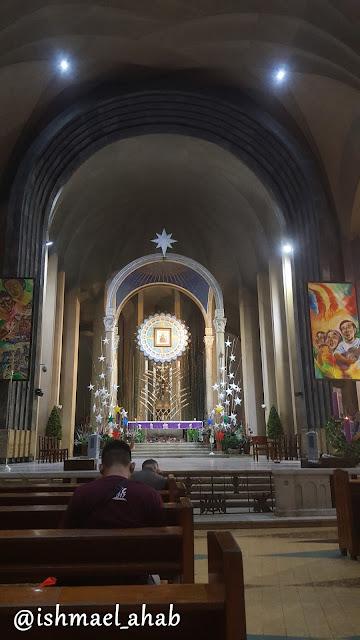 Altar of Baclaran Church in Pasay City