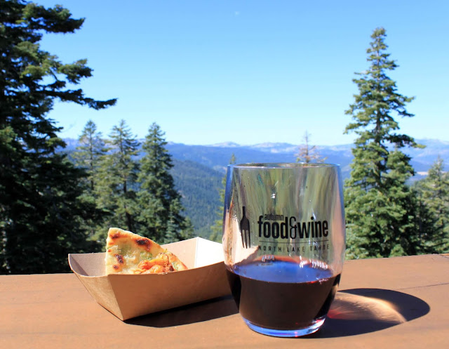 Wine with a view in Lake Tahoe