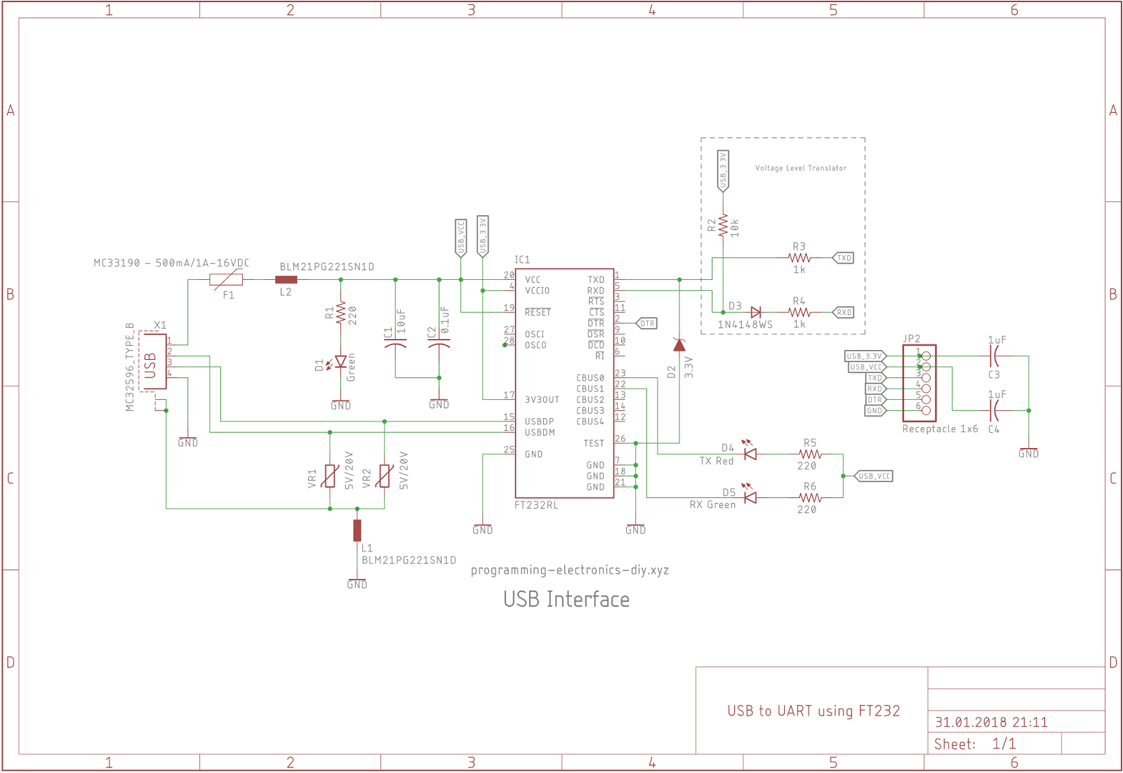 Alien Transducer How To Build Your Own Usb To Uart Serial