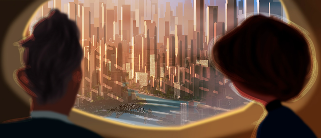 Incredibles 2 new urbem concept art