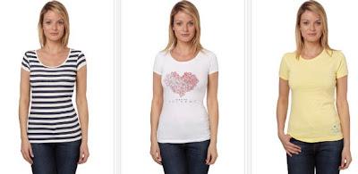Camisetas mujer manga corta