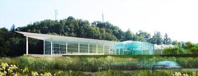 Perspective 3d piscine concours extérieur