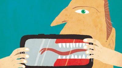 O rastro da intolerância na internet