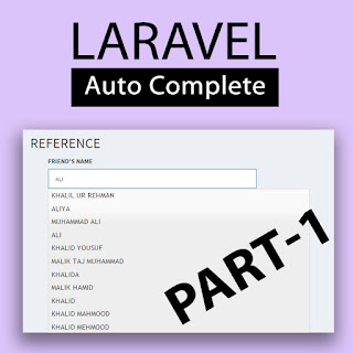 jQuery auto complete search laravel