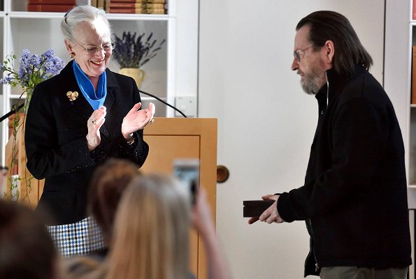 Queen Margrethe presented 2019 Rungstedlund Prize to the director Lars von Trier. Baroness Karen Christenze von Blixen-Finecke