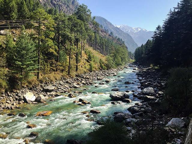Kasol parvati river