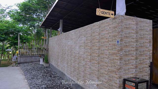 Fasilitas toilet Air Terjun Kanto Lampo Bali
