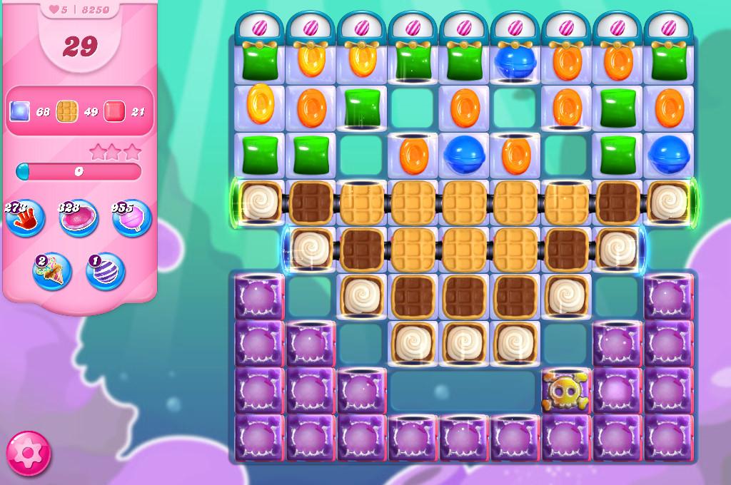 Candy Crush Saga level 8250