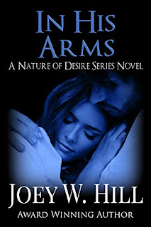 In His Arms - a BDSM romance book promotion sites by Joey W. Hill