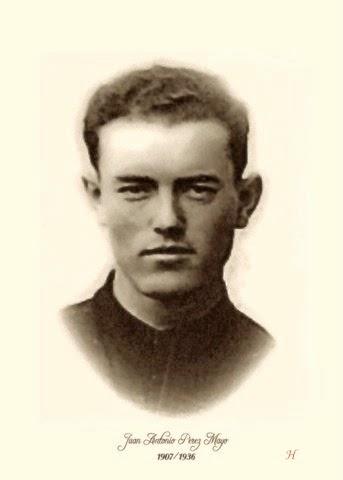 Resultado de imagen para Beato Juan Antonio Pérez Mayo