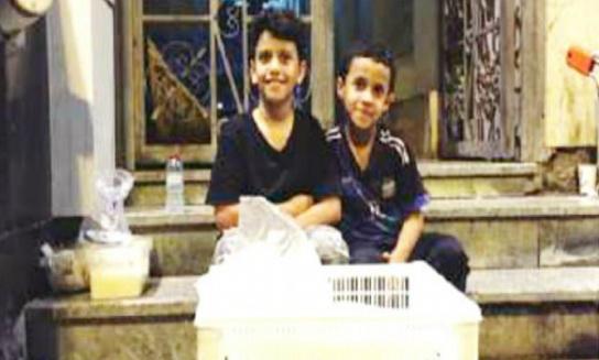 Demi Sediakan Makanan Dan Minuman Gratis Untuk Jamaah Haji, Dua Bocah Ini Rela Menabung