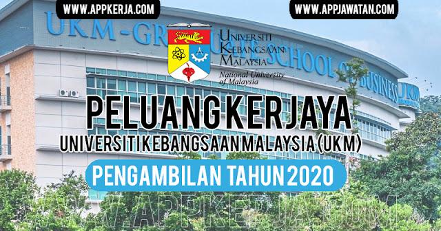 Jawatan Kosong di Universiti Kebangsaan Malaysia (UKM)