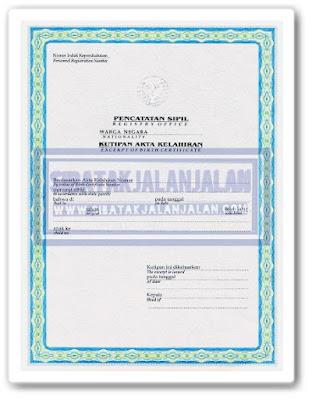 dokumen cpns 2021 akta kelahiran