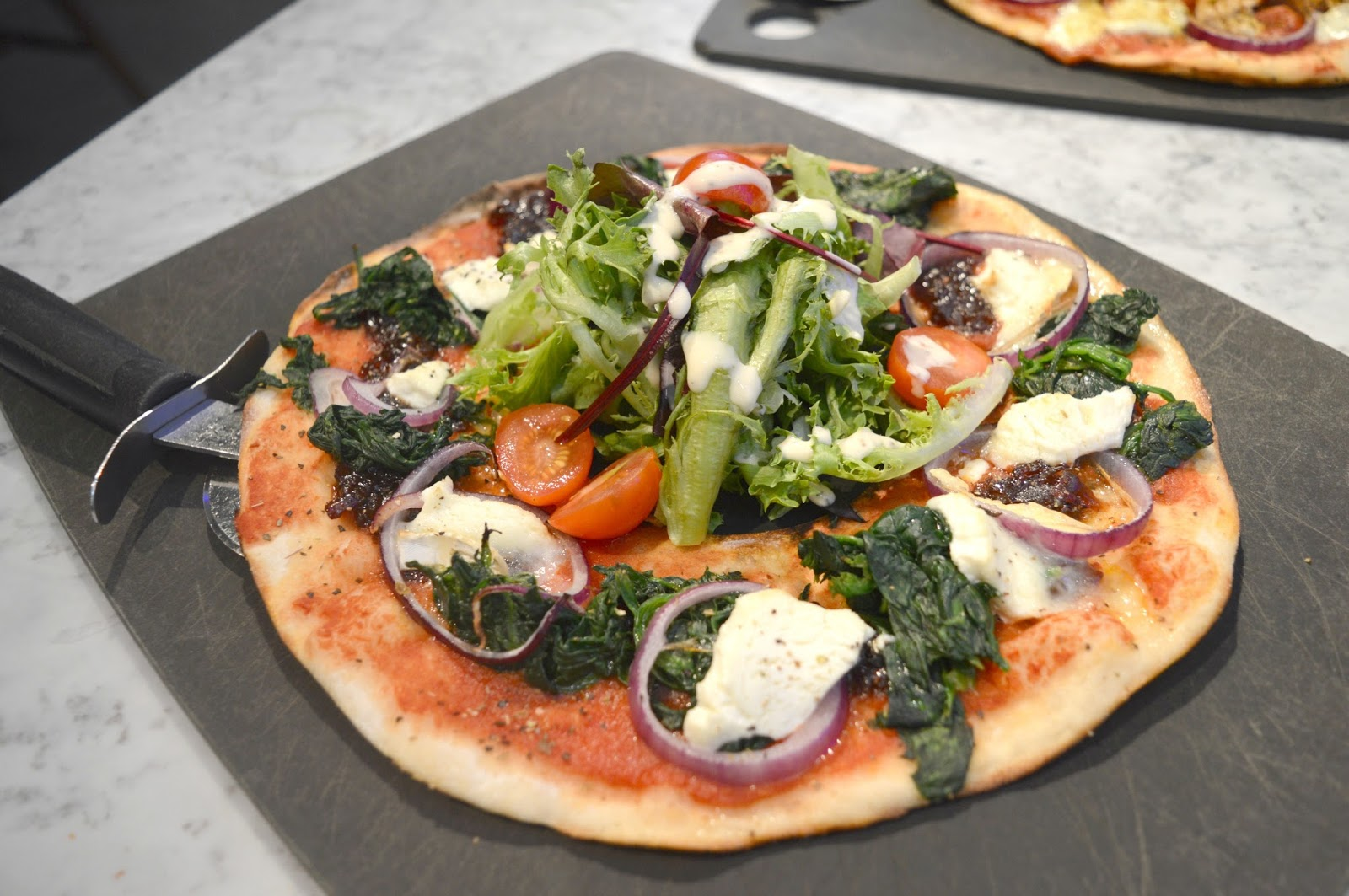 Pizza Express Metrocentre Leggera Pizza