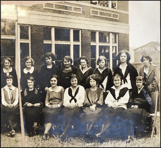 Bits & Pieces: Mystery Women; the Carrollton High School Class of 1923; Social Notes from the Carrollton Democrat; and More