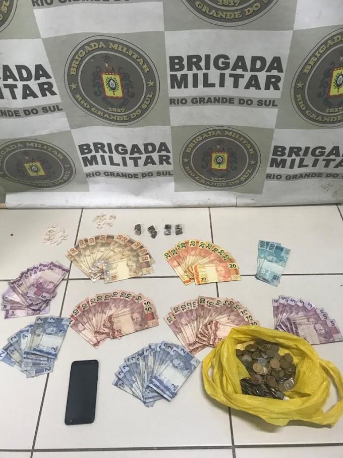 Dupla é presa por tráfico na Anair durante Operação Integrada