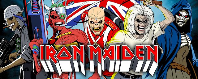 Incendium anuncia nova série de action figures do Iron Maiden