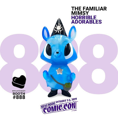 New York Comic Con 2019 Exclusive Mimsy the Water Elemental Familiar Vinyl Figure by Horrible Adorables x myplasticheart